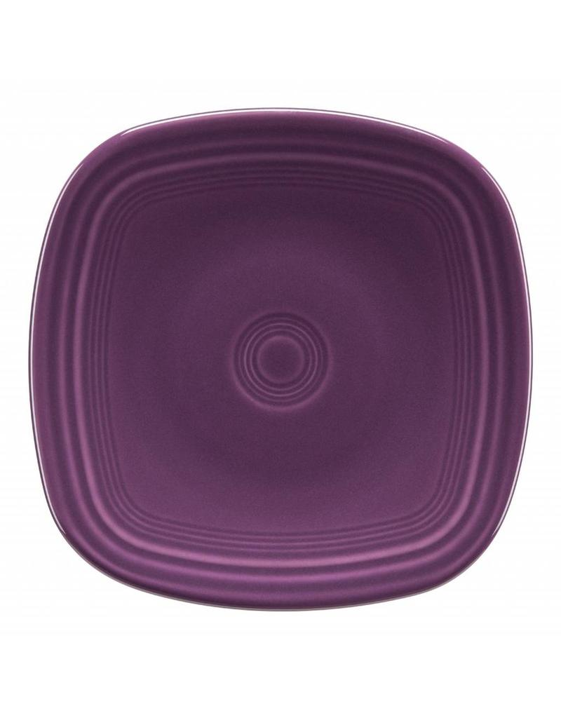 """Square Salad Plate 7 1/2"""" Mulberry"""