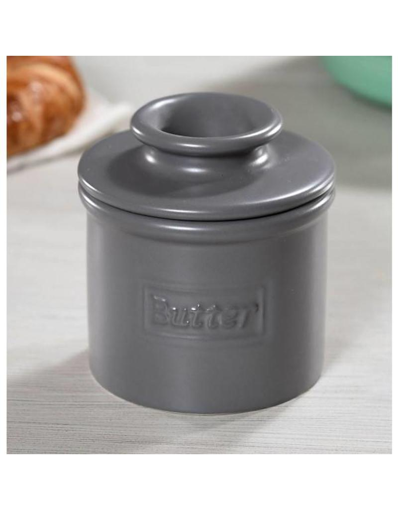 L. Tremain Butter Bell Cafe Collection Steel Gray Matte Finish