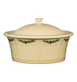 Large Covered Casserole, 90 oz Christmas Tree