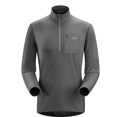 RHO LT ZIP NECK MEN'S
