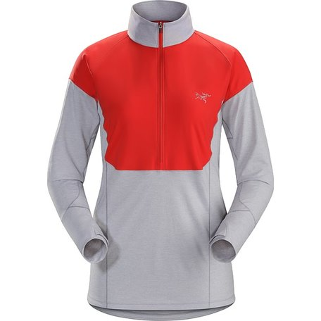 Taema Zip Neck LS Women's