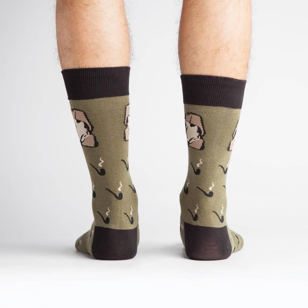 Sock it to Me Sock it to Me Sherlock Crew Socks