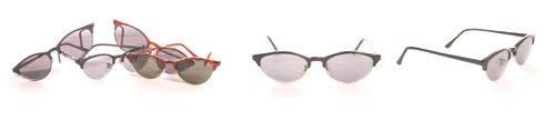Replay Retro Dead Stock 90's Cat Clubmaster Sunglasses in Black