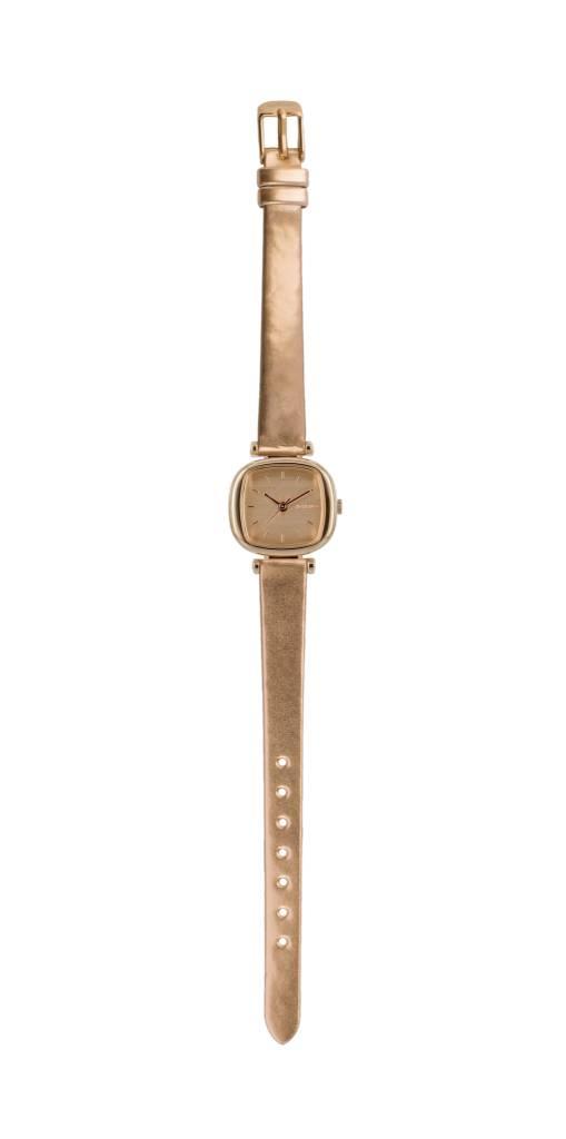 Komono Komono Moneypenny Matallic Series Rose Gold Watch
