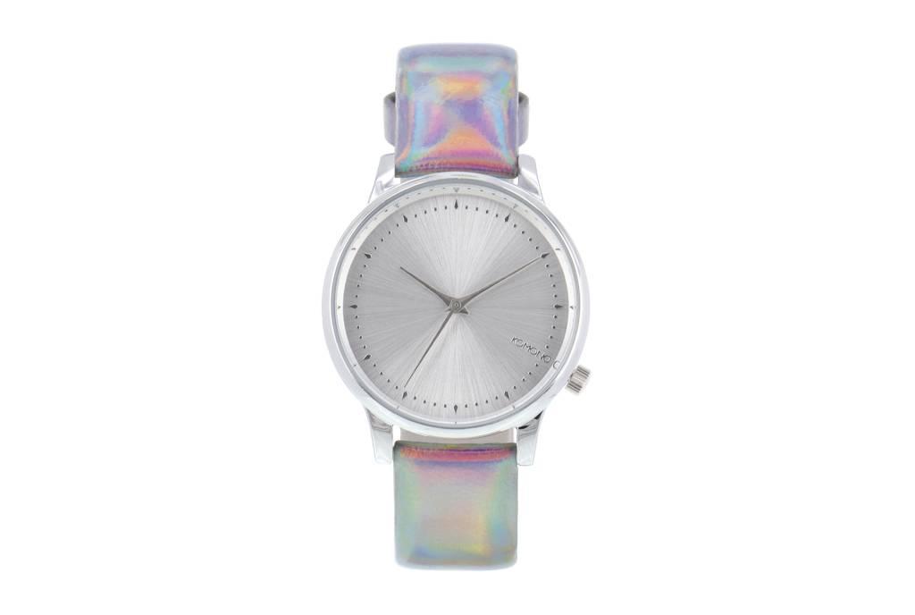 Komono Komono Estelle Iridiscent Silver Watch