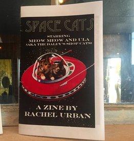 """PureGoldTears by Rachel Urban Rachel Urban """"Space Cats"""" Zine"""