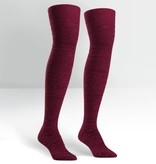 Sock it to Me Sock it to Me Plum Alpine Over The Knee Stockings