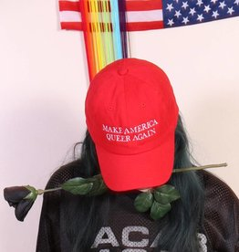 Bby kitti BBY Kitti Make America Queer Again Hat in Red