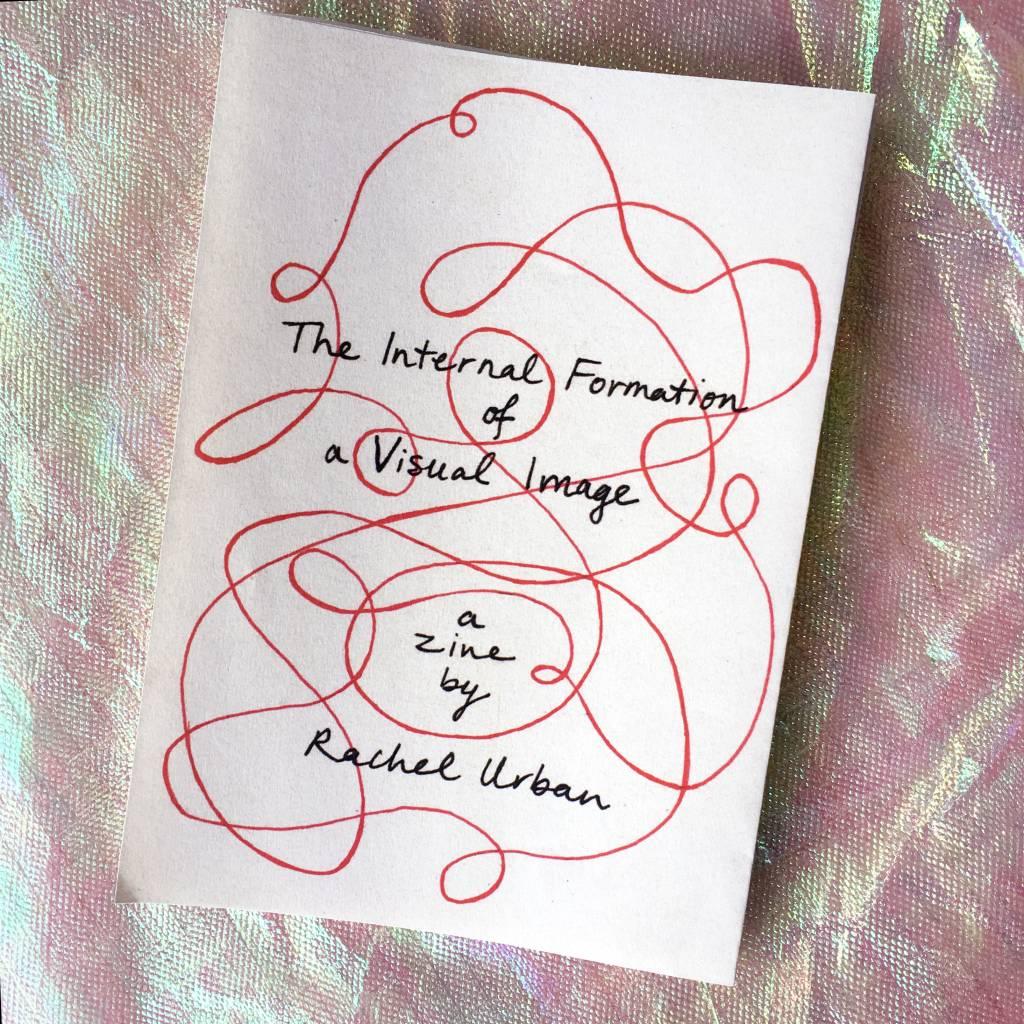 "PureGoldTears by Rachel Urban Rachel Urban ""The Internal Formation of a Visual Image"" Accordion Zine"