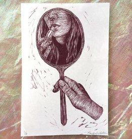 "PureGoldTears by Rachel Urban Rachel Urban ""Vanity"" Print"