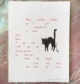 """PureGoldTears by Rachel Urban Rachel Urban """"Violent in Love"""" Print"""