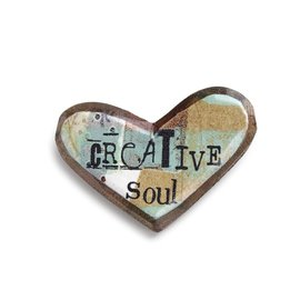 KELLY RAE ROBERTS HEART PIN - CREATIVE SOUL