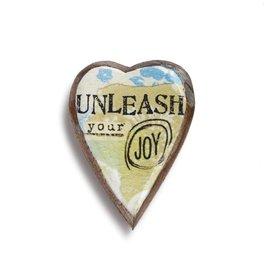 KELLY RAE ROBERTS HEART PIN - UNLEASH JOY