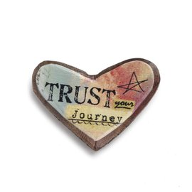 KELLY RAE ROBERTS HEART PIN - TRUST JOURNEY