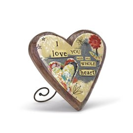 KELLY RAE ROBERTS  LOVE CARVED HEART