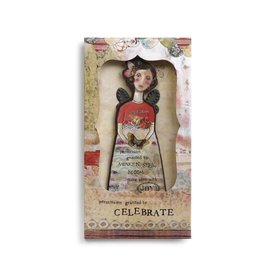 KELLY RAE ORNAMENT CARD CELEBRATE