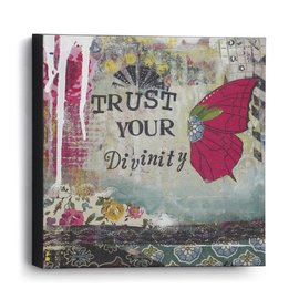 TRUST YOUR DIVINITY WALL ART