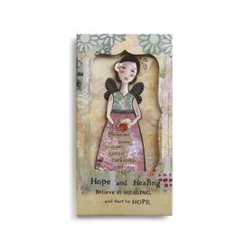 KELLY RAE ORNAMENT CARD HOPE/HEALING