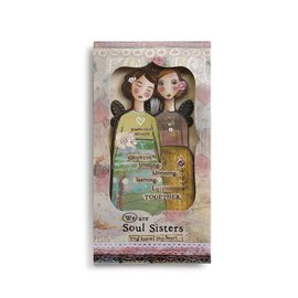 KELLY RAE ORNAMENT CARD SOUL SISTERS