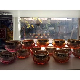 ROUND GLASS TEALIGHT
