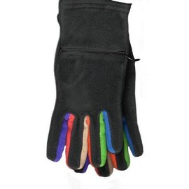 FLEECE TOUCHSENSOR RAINBOW GLOVES