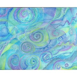 KATE PRINT-SWIRLING SKY AND WATER