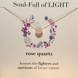 SOULKU ROSE QUARTZ NECKLACE SURVIVOR