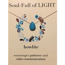 SOULKU HOWLITE NECKLACE