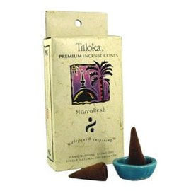 TRILOKA CONE INCENSE MARRAKESH