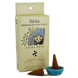 TRILOKA CONE INCENSE CHINA RAIN