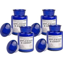 BLUE APOTHECARY JAR CANDLE