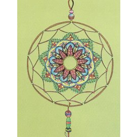 DREAMCATCHER ART PRINT - GREEN