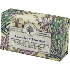 LAVENDER D'PROVENCE WRAPPED SOAP