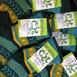 QT BABY SOCKS GALAXY