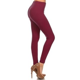 O/S BUTTERSOFT SOLID LEGGINGS