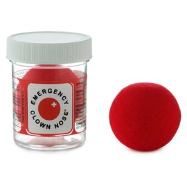 EMERGENCY CLOWN NOSE RED