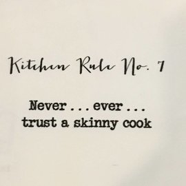 TINA LABADINI KITCHEN RULE #7 TOWEL