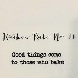 TINA LABADINI KTICHEN RULE #11 TOWEL