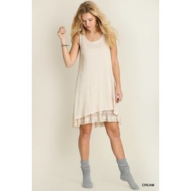 UMGEE Layered Sleeveless Dress