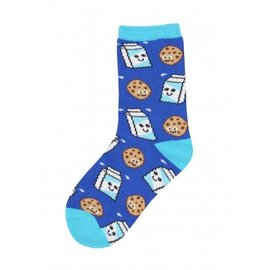 COOKIES AND MILK KID SOCKS