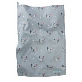 SOPHIE ALLPORT CHICKENS TEA TOWEL