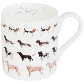 SOPHIE ALLPORT Bone China WOOF! Mug