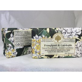 FRANGIPANI & GARDENIA WRAPPED SOAP