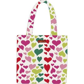 BUNGALOW REVERSIBLE TOTE HEARTS