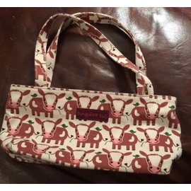 BUNGALOW MINI BAG COWS