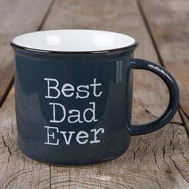 BEST DAD EVER CAMP MUG