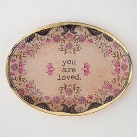 YOU ARE LOVED LITTLE PLATE