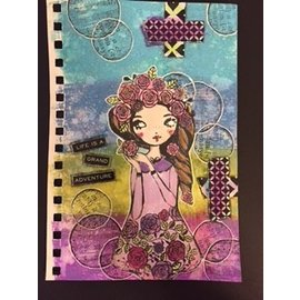 Art Journal Adventures with Tracy Lake! Focus on Distress Oxides