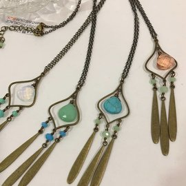 LONG GYPSY NECKLACE