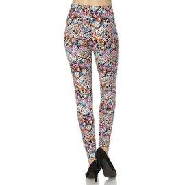 Leggings- Batik Patterns